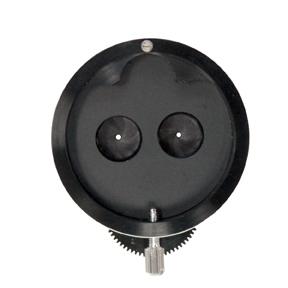Dual Iris Diaphragm for Microscope