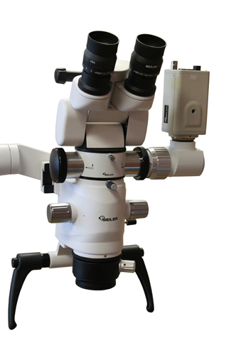 Colposcope with Live Video and Digital Camera