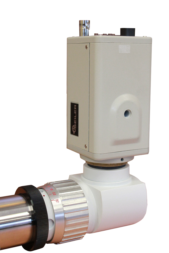 CCD Camera on Adapter