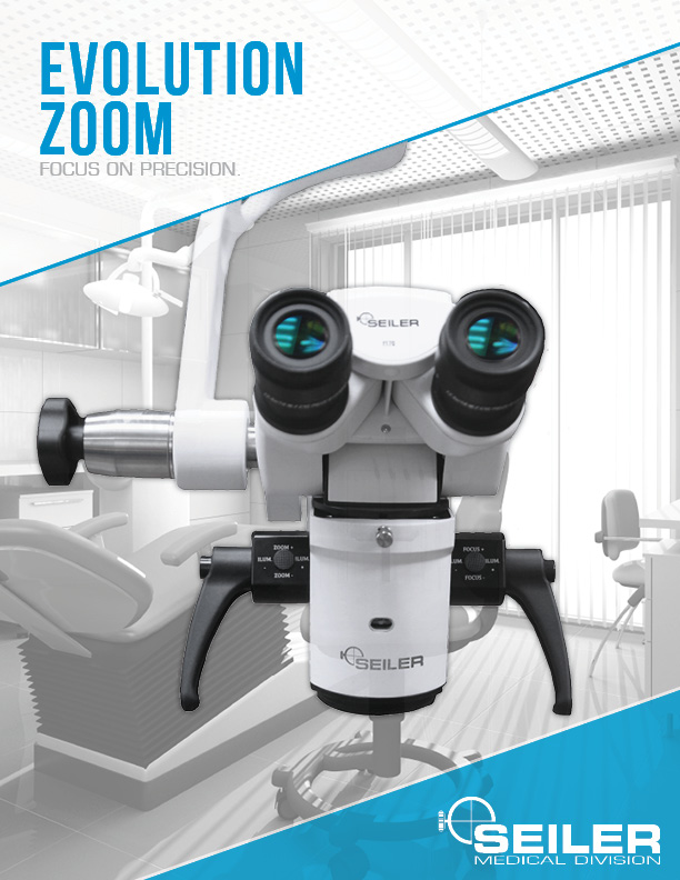 Evolution Zoom dental brochure cover