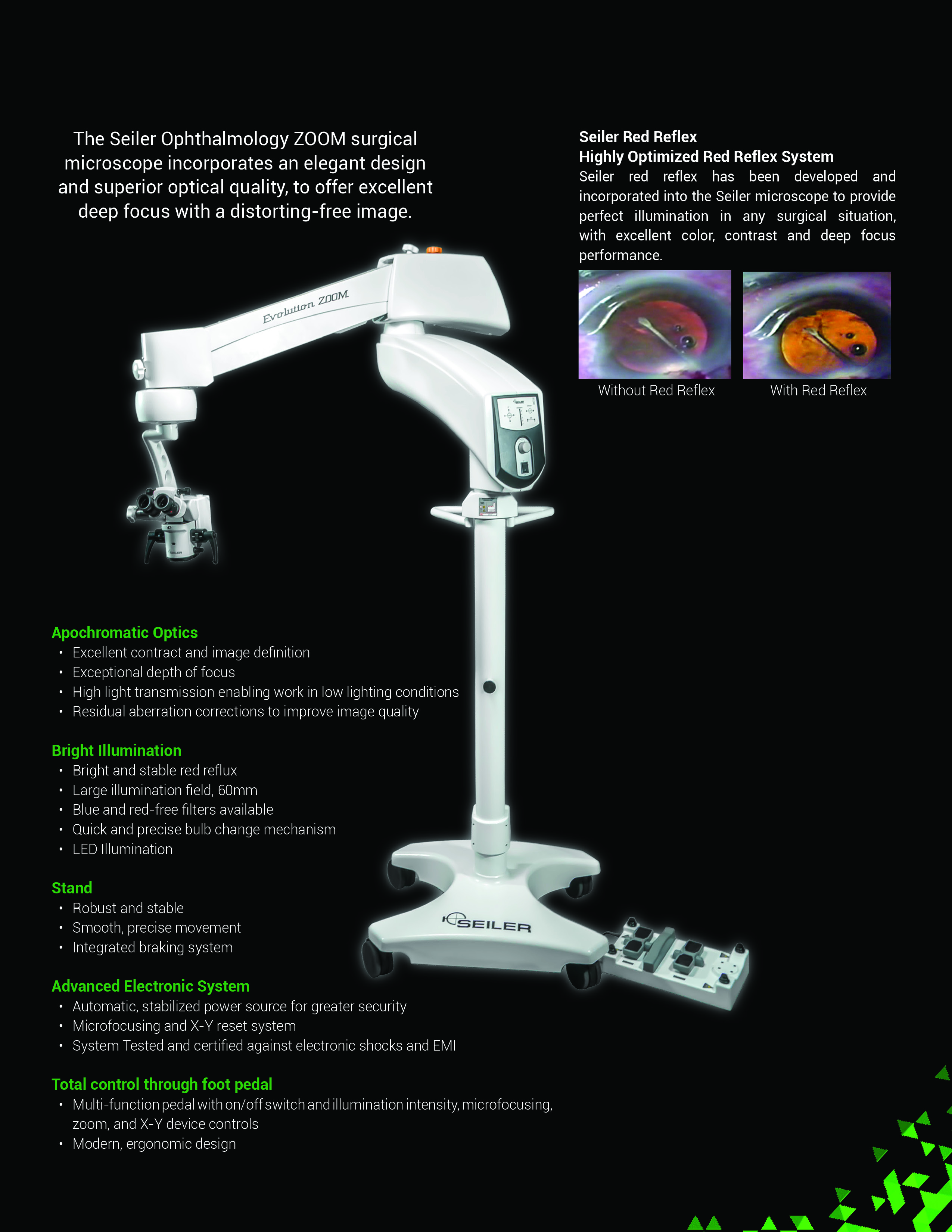 Opthalmology Brochure back page
