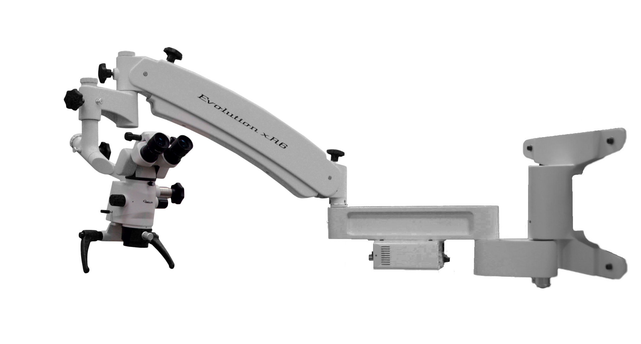 evolution xr6 dental wall mount
