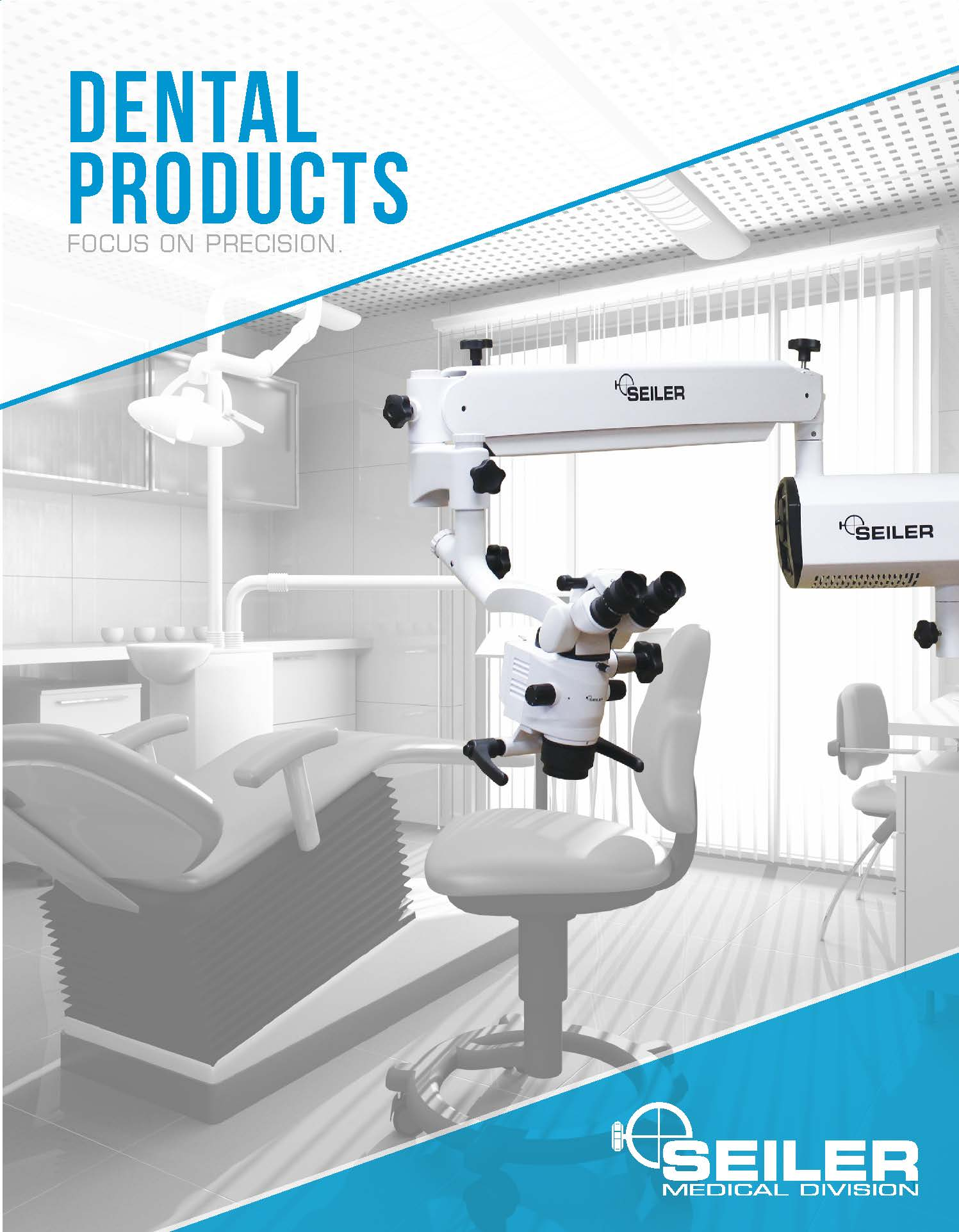 dental product brochure cover