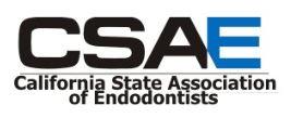 California State Association of Endodontists