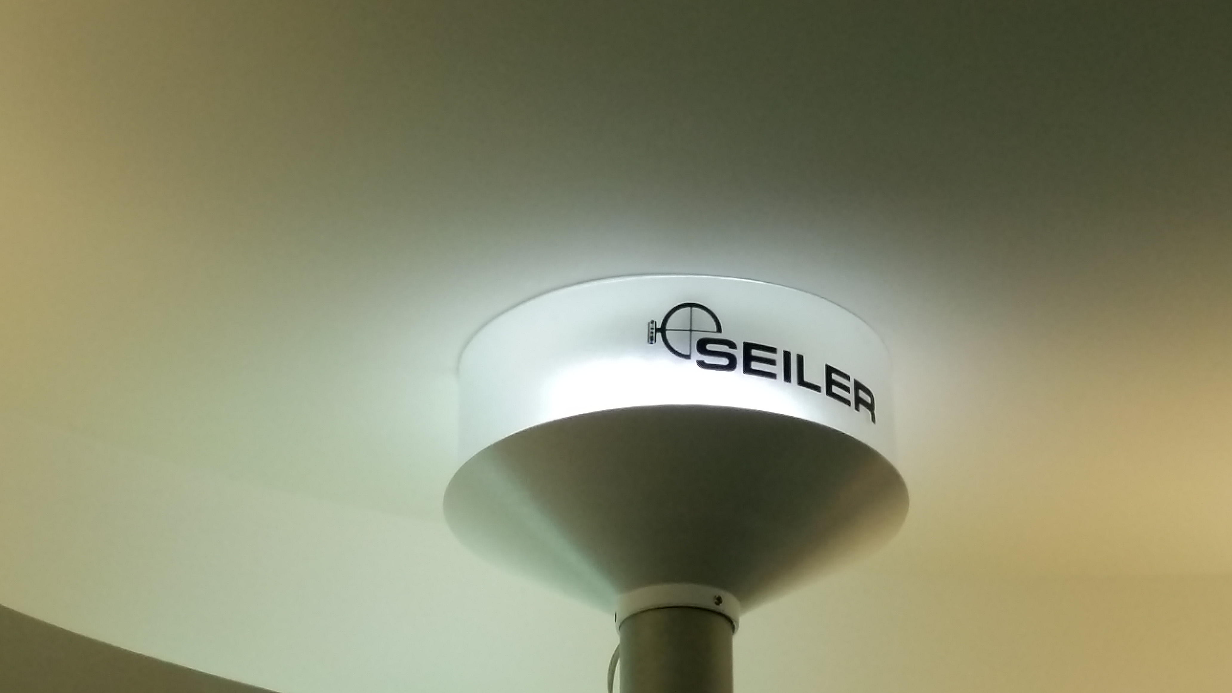 ceiling mount in office