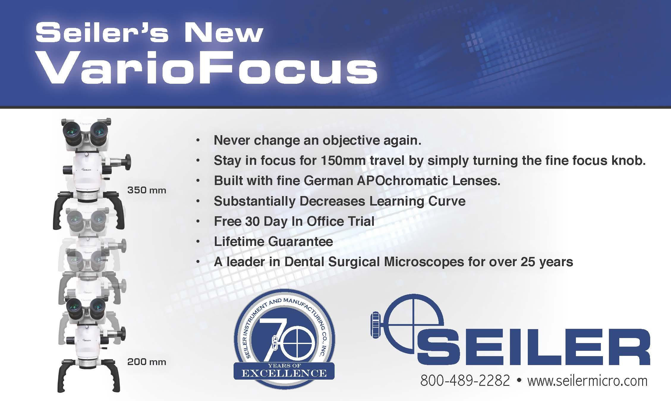Seiler's new variofocus