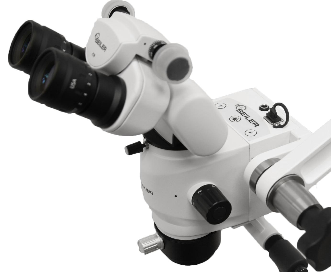 close up of optic pod controls