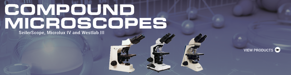 Compoudn microscopes. View products.