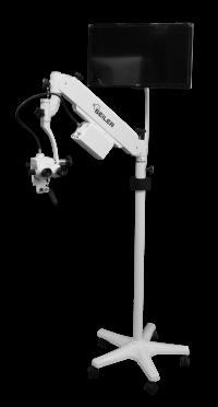 monitor mount on Colposcope 985