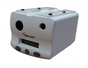 Colposcope and Alpha Slim 3 and 6 lightsource front view