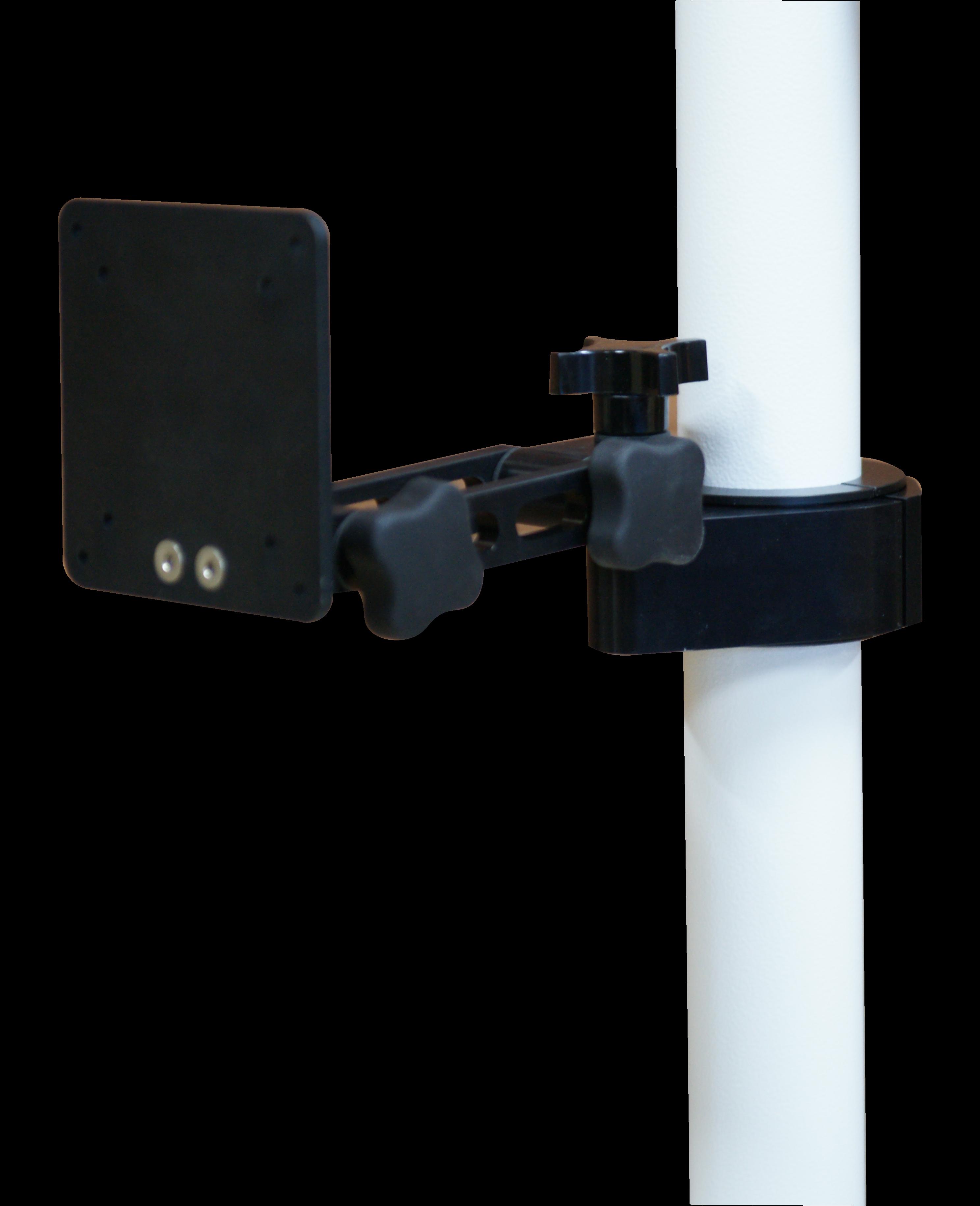 TV post mount